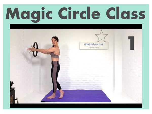 MAGIC CIRCLE Class 1 - Fully Instructed (60 mins)