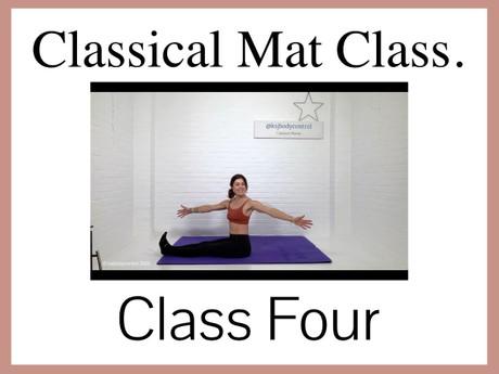 Classical Mat CLASS Four