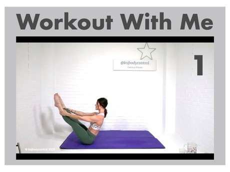 WORKOUT 1 - The Full Classical Pilates Matwork Rep - 48 Minutes