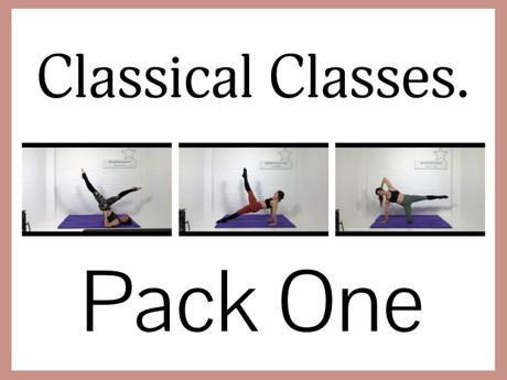 Classical Mat CLASSES - Pack One