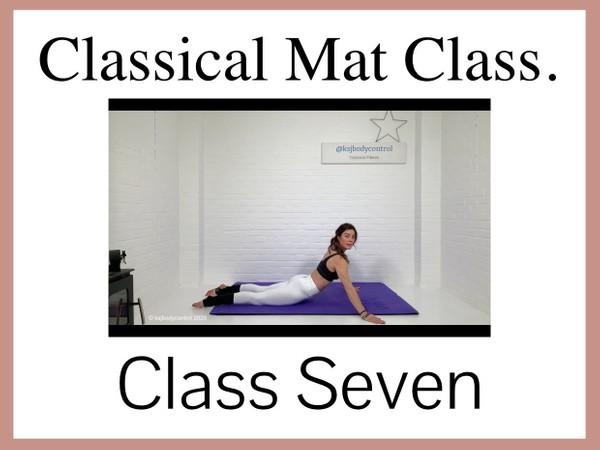Classical Mat CLASS Seven