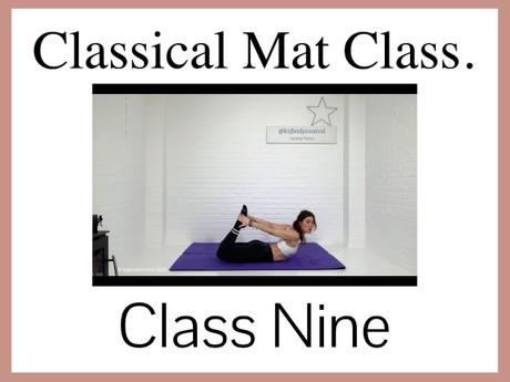 Classical Mat CLASS Nine