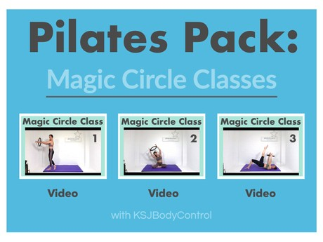 PILATES PACK: Magic Circle Classes 1-3 (Running Time 173 Minutes)