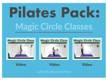 PILATES PACK: Magic Circle Classes 7-9 (Running Time 186 Minutes)