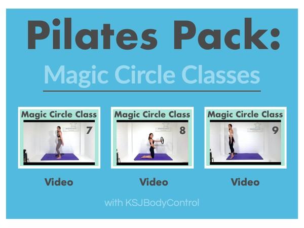 PILATES PACK: Magic Circle Classes 7-9 (Running Time 186 Minutes)