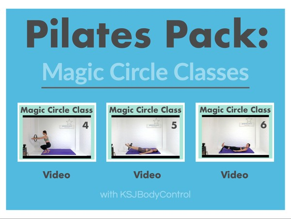 PILATES PACK: Magic Circle Classes 4-6 (Running Time 182 Minutes)
