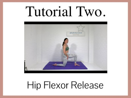TUTORIAL 2 - Focus On Release: The Hip Flexors (57 mins)