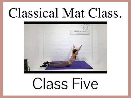 Classical Mat CLASS Five