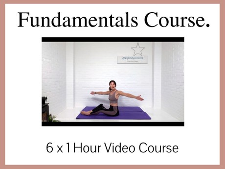 6 Session Video Course: 'The Fundamentals - The Building Blocks of Classical Pilates'