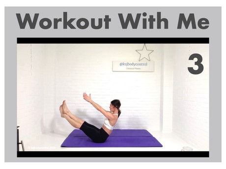 WORKOUT 3: The Classical Pilates Matwork Rep With Mini Flows -  45 Minutes