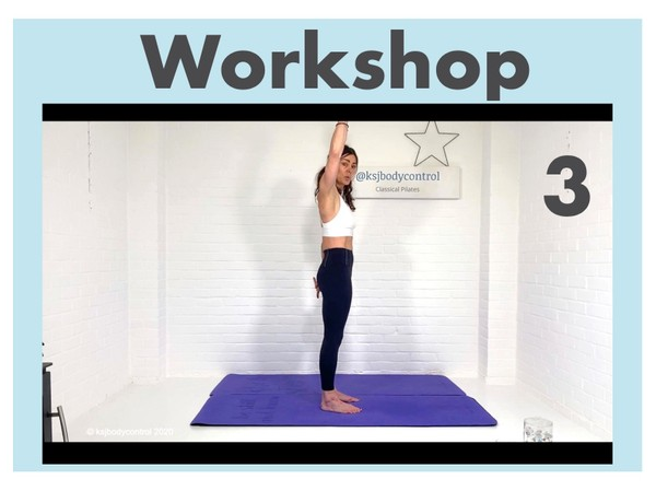 WORKSHOP 3 - Classical Pilates 'Strip-Back': One & Double Leg Pull (Running Time 123 Minutes)