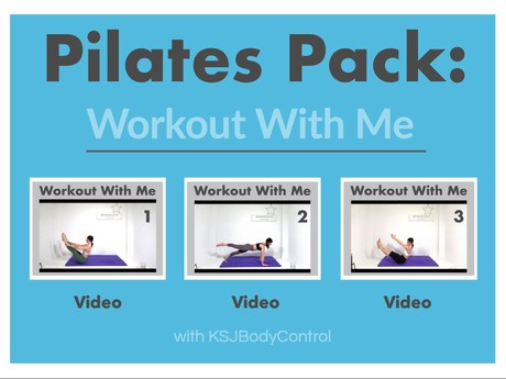 PILATES PACK: Workout With Me - The Classical Way - Advanced  (Total Running Time 136 Minutes)