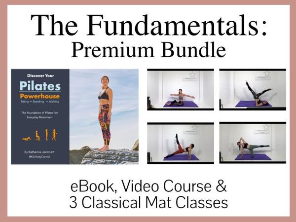 The Fundamentals -eBook, 6 Video Course & Classical Mat Classes Pack One (Premium Bundle)