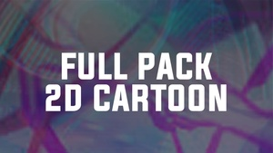 FULL PACK 2D CARTOON FX 2018   SONY VEGAS 13,14,15   AFTER EFFECTS CC 2018
