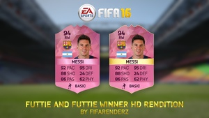 FIFA 16 - Futtie/Futtie winner Cards rendition (Ultra HD)