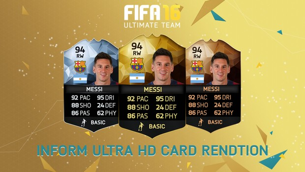 FIFA 16 - IF Cards rendition (Ultra HD)