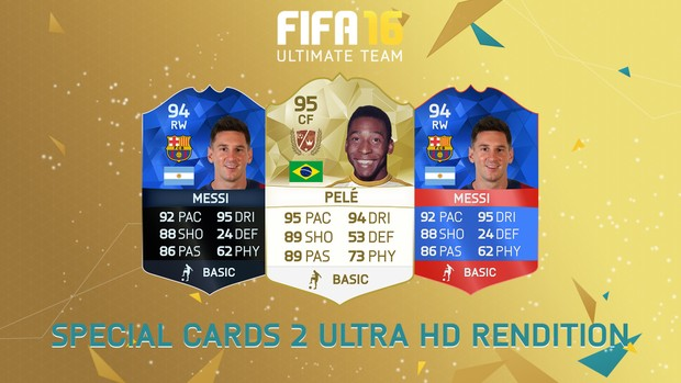 FIFA 16 - Legend card/Special cards rendition (Ultra HD)