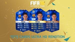 FIFA 16 - TOTS Card rendition (Ultra HD)