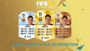 FIFA 16 - RARE  Cards rendition (Ultra HD)