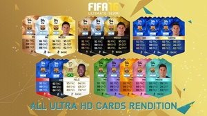 FIFA 16 - All Cards rendition (Ultra HD)