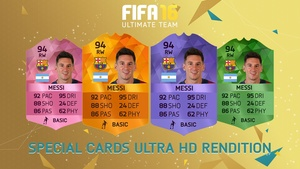 FIFA 16 - Special Cards rendition (Ultra HD)