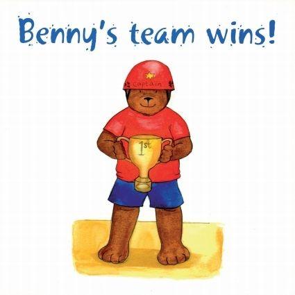 Benny's team wins