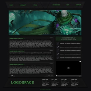 Green Nomad [PSD Only]