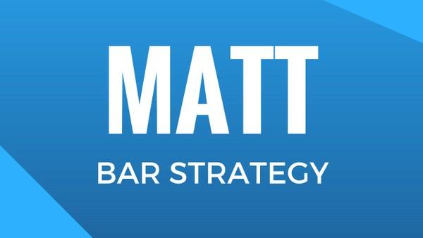 Matt Bar Strategy [Opcje Binarne]