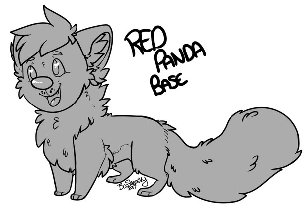 Chibi Red Panda Base