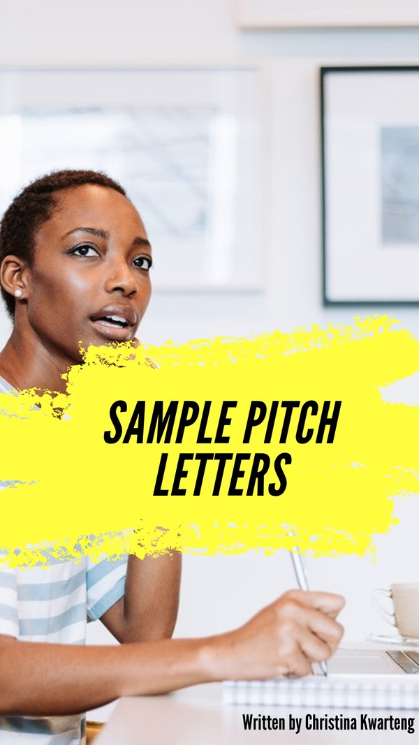 Sample Pitch Letters