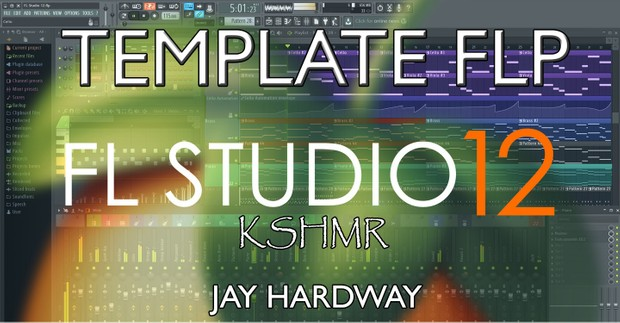 FLSTUDIO 12 TEMPLATE:  KSHMR & SPINNIN RECORDS