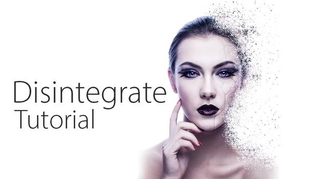 Disintegrate - Photoshop CC Tutorial (HD)