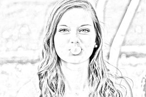 Drawing Sketch Effect Photoshop Action