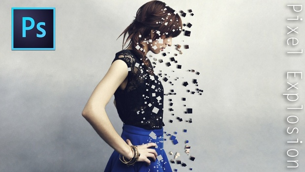 Pixel Explosion Effect - Photoshop Tutorial