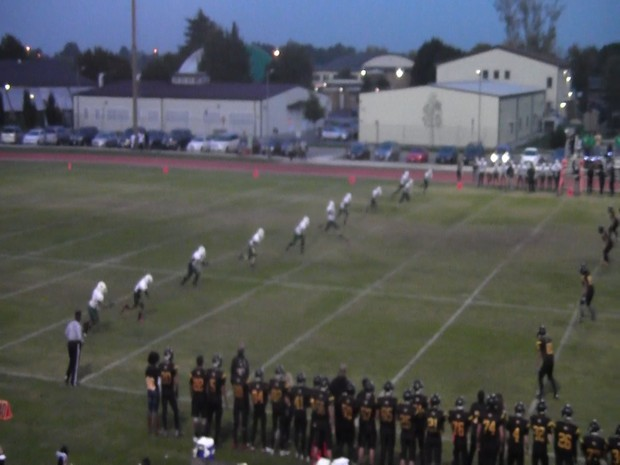 Naples High Football away at Vicenza on Oct 3, 2015