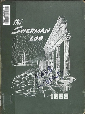 Forrest Sherman High School Log - 1959