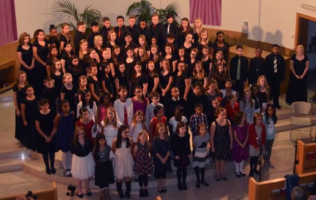 Naples school complex Winter Choir Concert