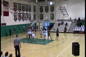 Girls Varsity Basketball Game vs Aviano Feb 12, 2016
