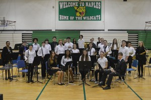 Naples Middle High School Winter Band Concert 2016