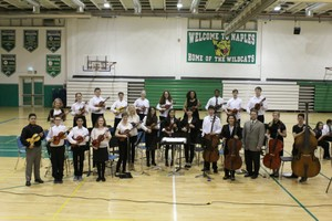 Naples MHS Winter Orchestra Concert 2016