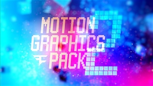 Motion Graphics Pack 2 (Includes Tutorials)