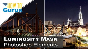 How to Make a Photoshop Elements Luminosity Mask to Lighten a Dark Photo in 2018 15 14 13 12 11
