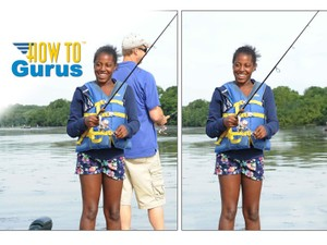 How to Remove People and Objects with Photoshop from a photo, CS5 CS6 CC Tutorial