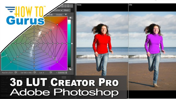 3D LUT Creator Pro Review and How to Use Color Adjustments with Adobe Photoshop CC 2018, CS6