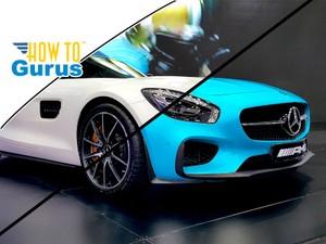 Photoshop How To Change Color of Object : Colorize White Car Photoshop CC 2017 CS6 CS5 Tutorial