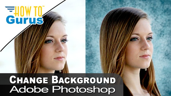 Adobe Photoshop Change Background to Custom Studio Effect in CC 2018 CS6 Tutorial