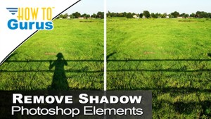 Photoshop Elements Beginner Basics Content Aware Fill Remove Shadows 2018 15 14 13 12 Tutorial
