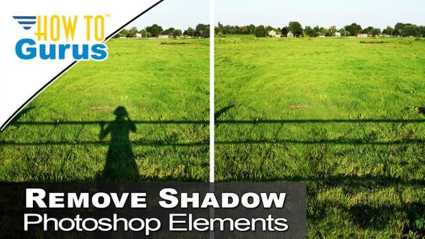 Photoshop Elements Beginner Basics Content Aware Fill Remove Shadows 2018 15 14 13 12 Tutorial