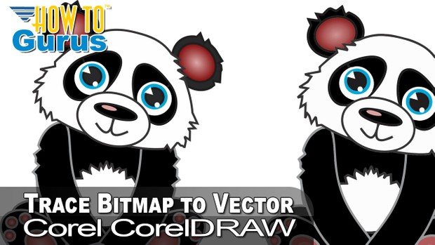 CorelDRAW Trace Bitmap to Vector Tutorial, How to Trace an Image in  CorelDRAW 2019 and earlier