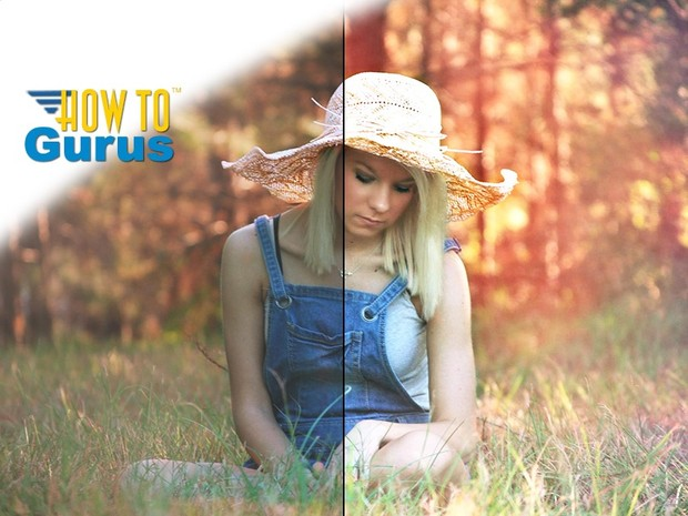 How to Brighten Up and Improve a Dull Photo in Photoshop Elements 11 12 13 14 Tutorial